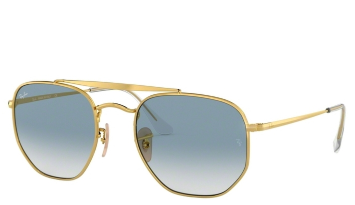 Ray Ban THE MARSHAL RB3648 001/3F 51