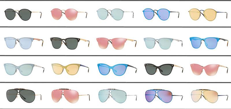 Svi modeli Ray Ban Blaze naočara za sunce