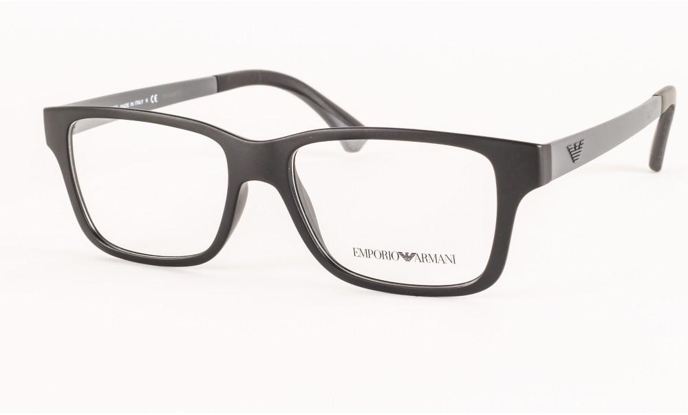 Emporio Armani dioptrijske naočare od injektirane plastike