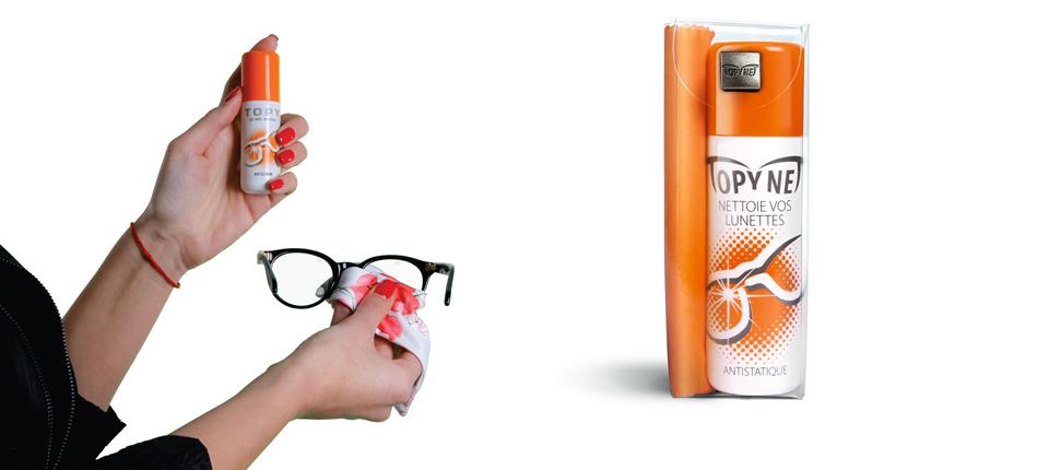 Tečnost za brisanje naočara