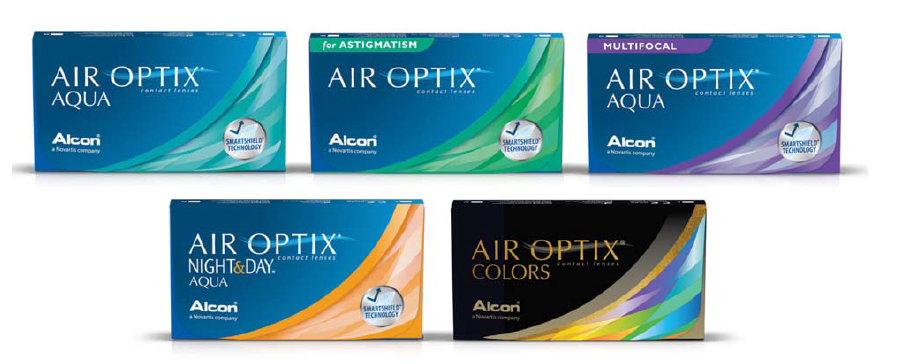 Sva AIR OPTIX silikon hidrogel kontaktna sočiva