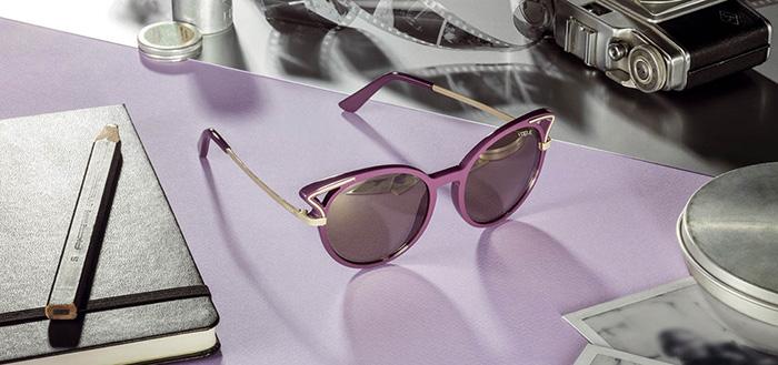 Ljubičaste Vogue naočare za sunce iz kolekcije 2017