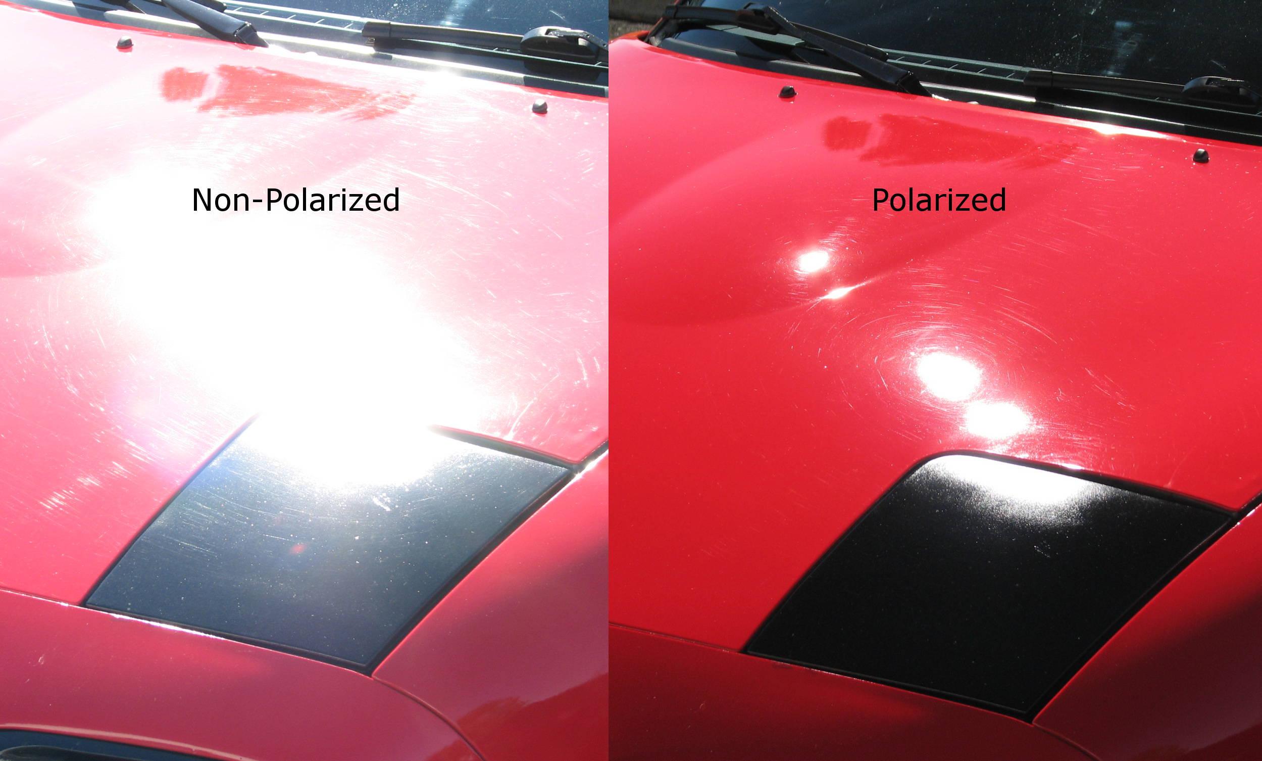 Delovanje polarizovanih naočara