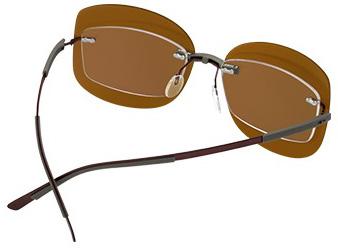 Silhouette dodatak za naočare za vid koji ih pretvara u naočare za sunce