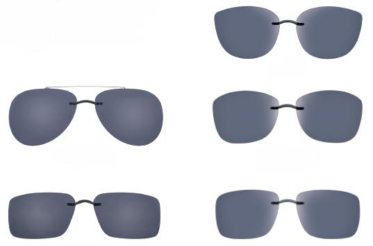 Silhuette katalog dodataka za naočare za vid koji ih pretvara u naočare za sunce