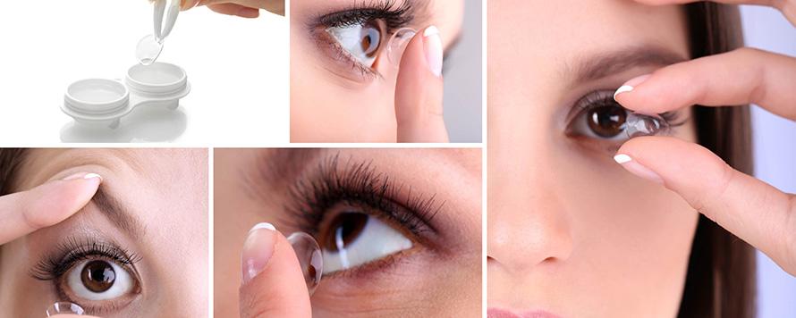 Stavljanje kontaktnih sočiva i održavanje