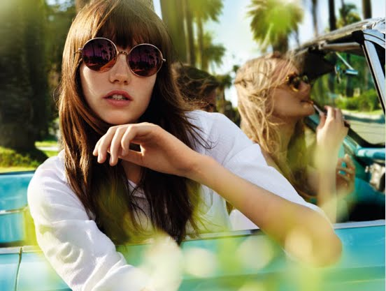 Michael Kors okrugle ženske naočare za sunce