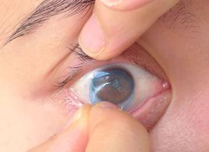 Savljanje kontaktnih sočiva