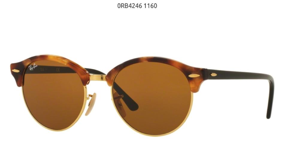 Ray Ban Cloubround 0RB42461160 ženske naočare za sunce