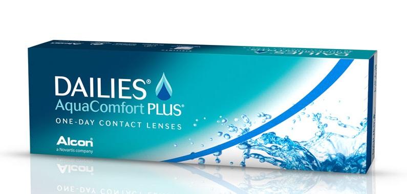 Dailies Aqua Comfort Plus dnevna kontaktna sočiva - Kutija