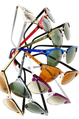 Naočare za sunce u raznim bojama