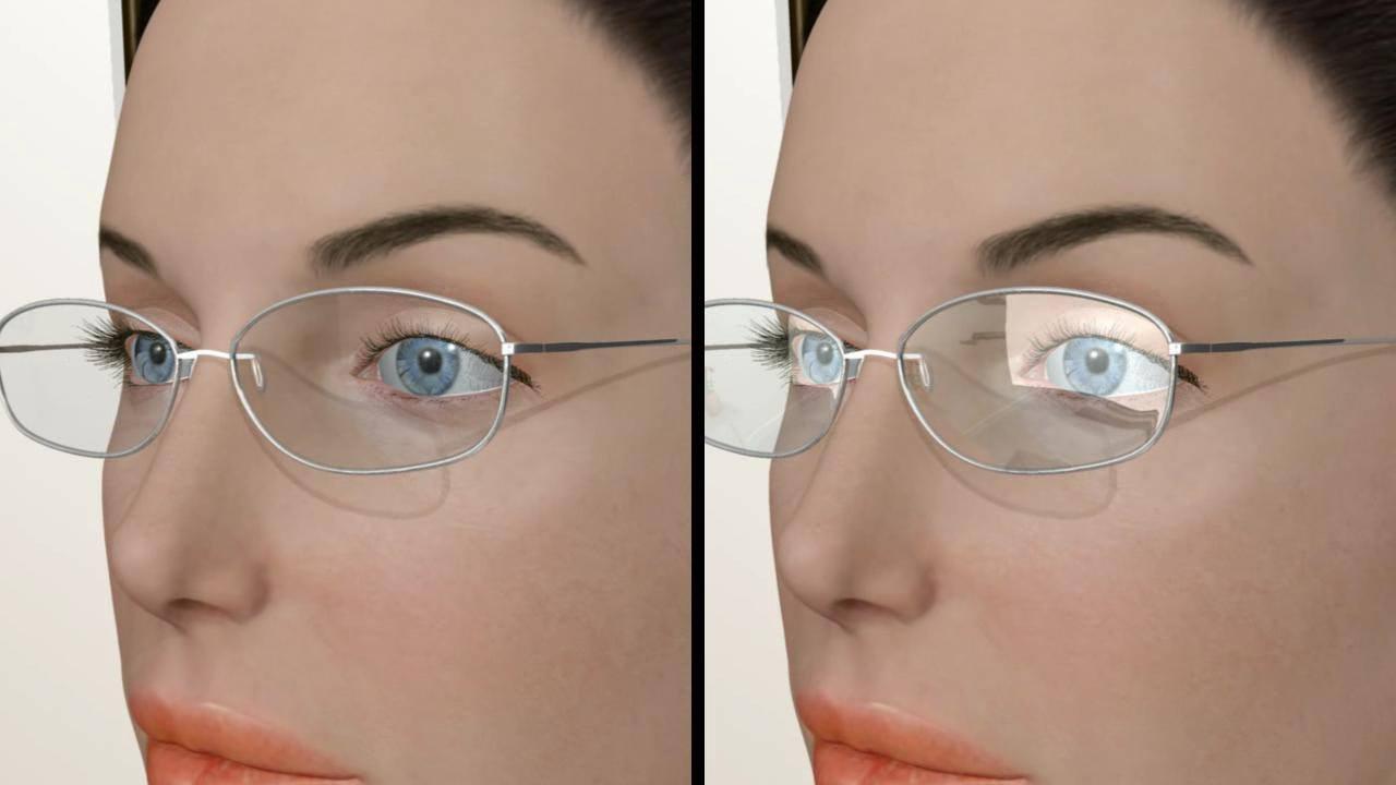 Dioptrijske naočare sa i bez antirefleks sloja