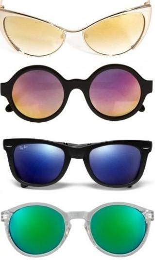 Različiti oblici naočara za sunce