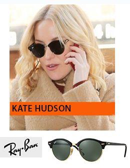 Kate Hudson nosi Ray Ban Clubround naočare za sunce