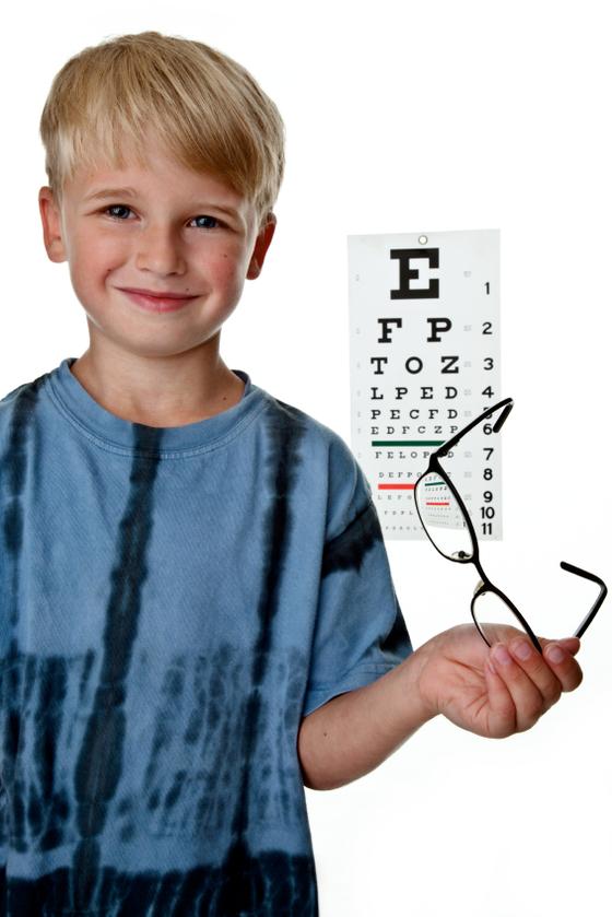 Očni pregled za decu