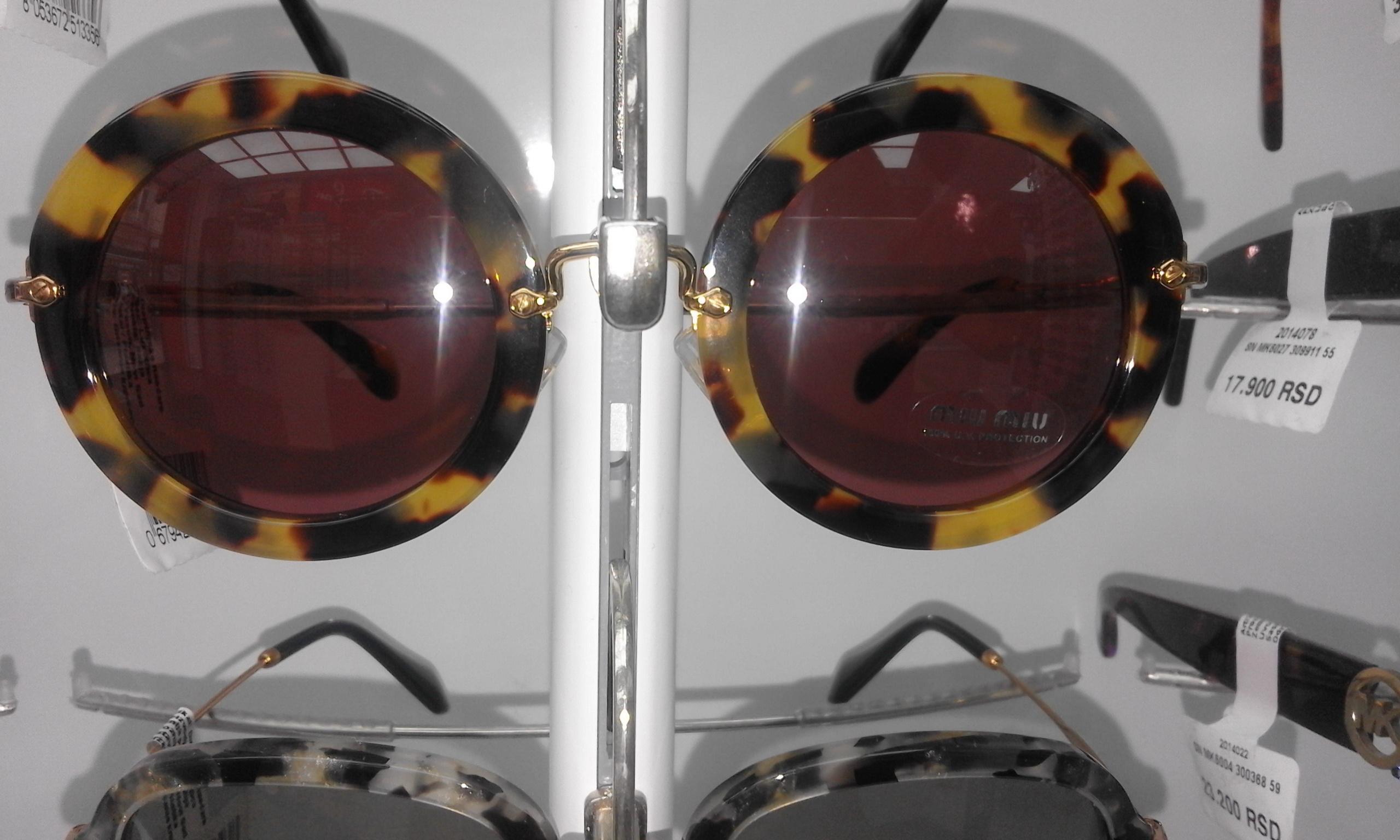 Miu Miu SN MU13NS 7SOOAO 49 ženske sunčane naočare