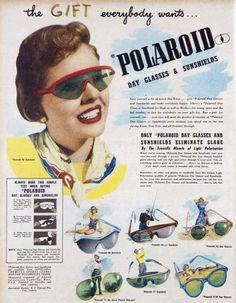 Starinska reklama za Polaroid sunčane naočare
