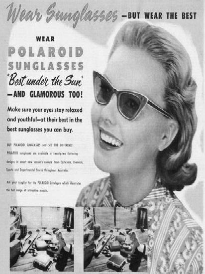 Starinske Polaroid naočare za sunce