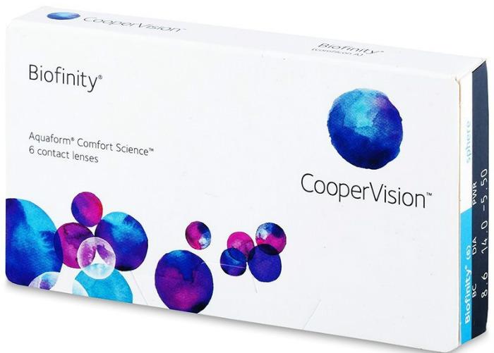 Cooper Vision Biofinity mesečna sočiva
