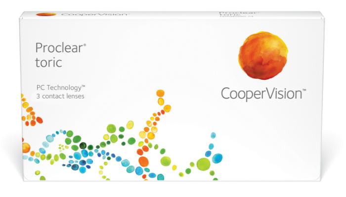 Cooper Vision Procelar Toric torična mesečna kontaktna sočiva