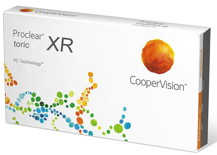Cooper Vision Proclear Toric XR mesečna kontaktna sočiva