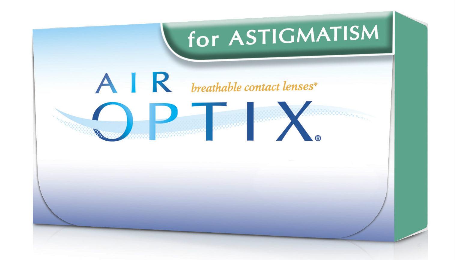 Air Optix Toric mesečna kontaktna sočiva