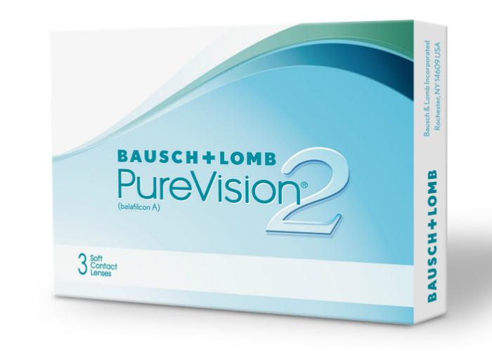 Baush & Lomb Pure Vision 2 mesečna kontaktna sočiva