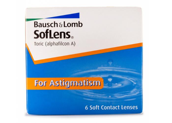 Baush & Lomb Soflens for Astigmatism mesečna kontaktna sočiva za astigmatizam
