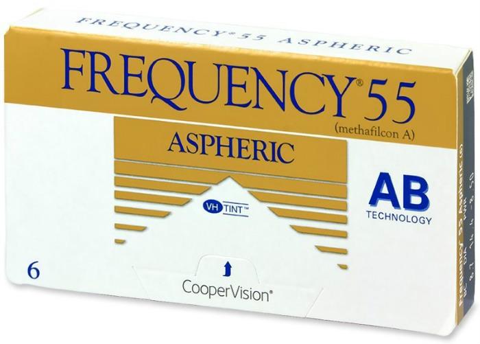 Cooper Vision Frequency 55/AS mesečna kontaktna sočiva