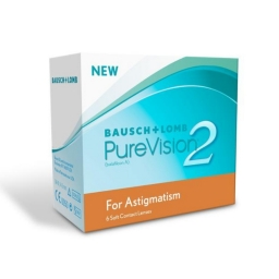 BAUSCH & LOMB Pure Vision 2 For Astigmatism (6 kom)