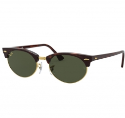 Ray Ban Clubmaster Oval RB3946 130431 52