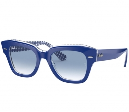 Ray Ban STATE STREET RB2186 13193f 49